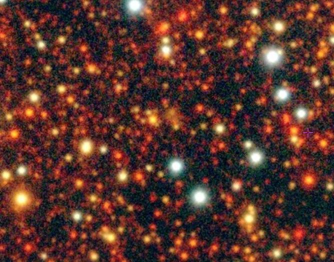 Fe 11 planetary nebula candidate