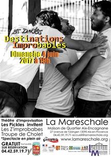 PROGRAMMATION GRATUITE DE JUIN 2017 à La Mareschale
