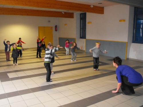 Danse à l'école