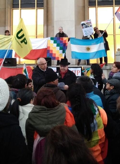 BOLIVIE :« Solidarité avec la Bolivie d'Evo MORALES » par Jean-Luc Pujo,« Penser la France »