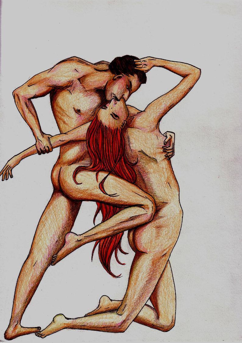 D'après un tableau de Bouguereau