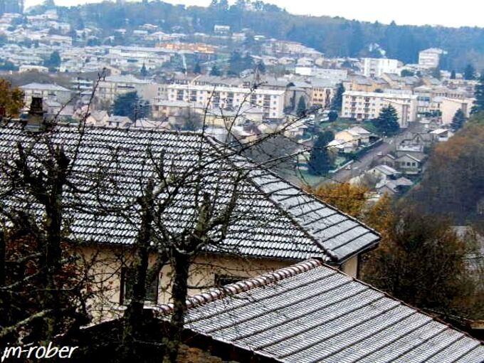 L'hiver 2015 :Les premiers flocons arrivés sur Limoges et sa banlieue