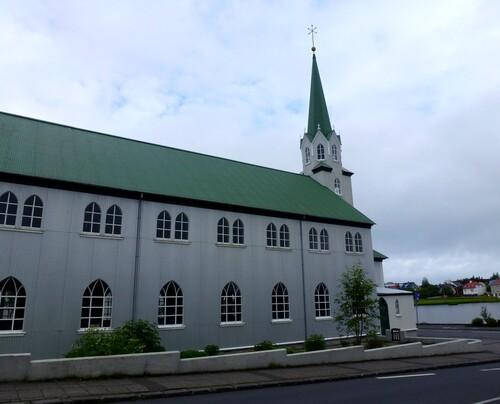 Les églises de Reykjavík de A à G