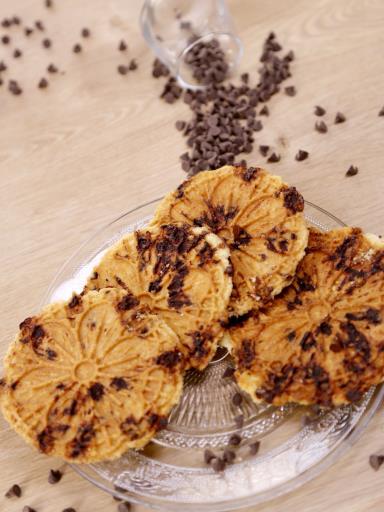 Recette Gaufre façon cookie