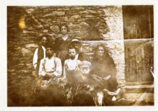 in l'annate 20, a famiglia Cacciaguerra