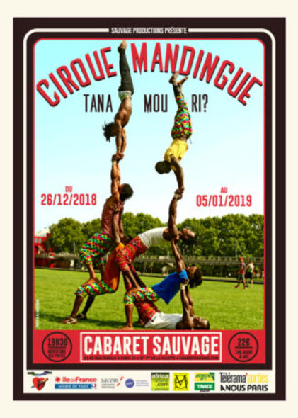 CIRQUE MANDINGUE Cabaret Sauvage FLYER WEB