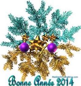 "Echange ""bonne année"" chez Manou"
