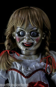 THE CONJURING 2 ANIMATRONIC ANNABELLE HAUNTED HORROR MOVIE PROP PUPPET DOLL  OOAK | eBay