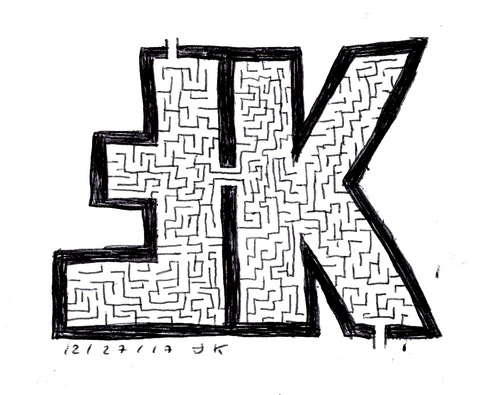 Self-labyrinthe