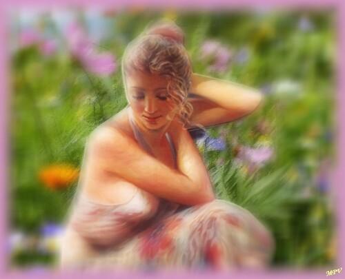 Femmes au printemps (série 2)