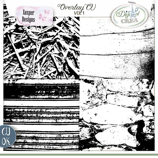 Overlay Cu vol 1 de Xuxper designs