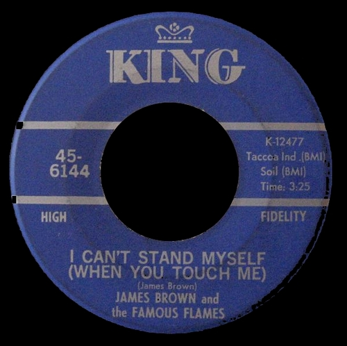 1967 James Brown & The Famous Flames : Single SP King Records 45-6144 [US]