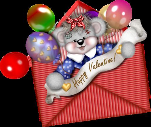Animaux ou peluche  Saint Valentin etc 2