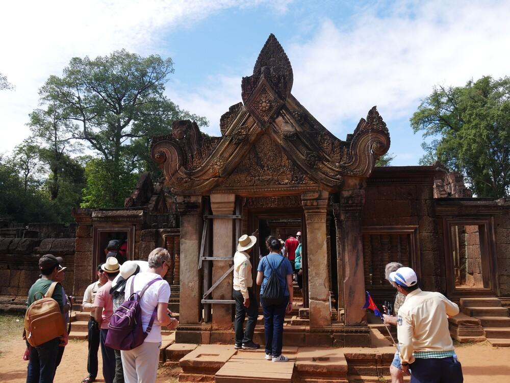 Le temple de Banteay Srei - Cambodge