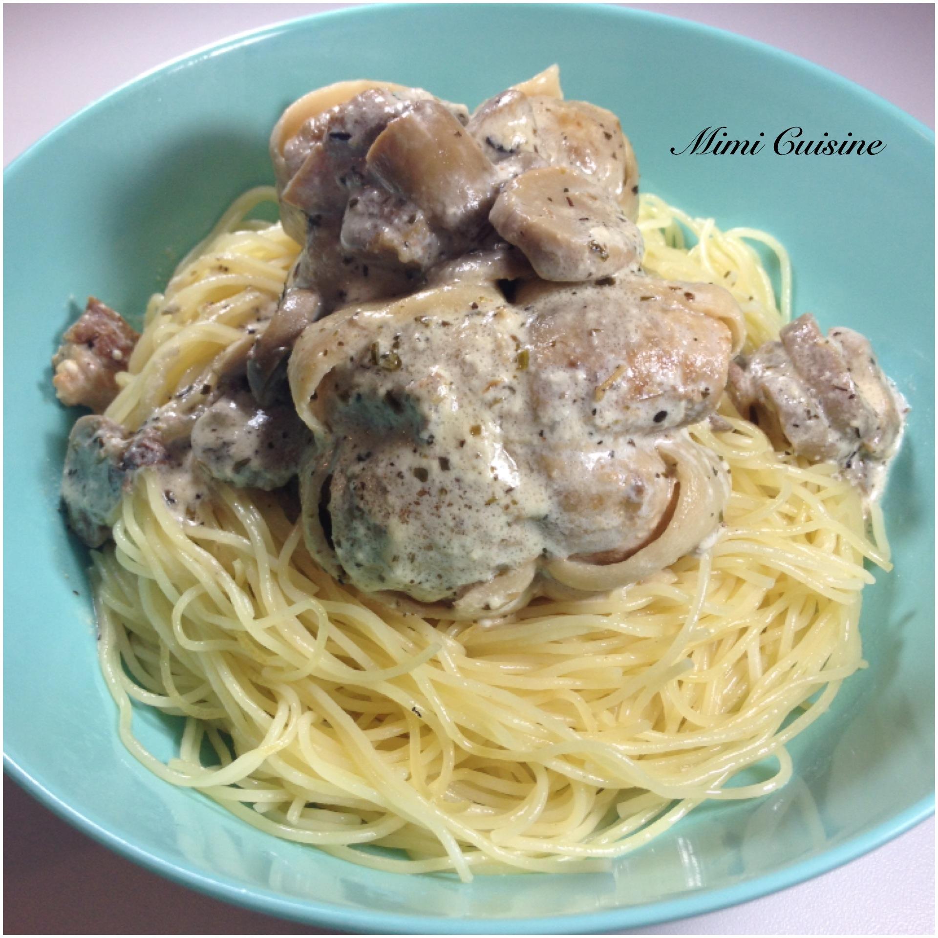 Paupiettes sauce mascarpone champignons recette cookeo - Cuisiner des paupiettes ...