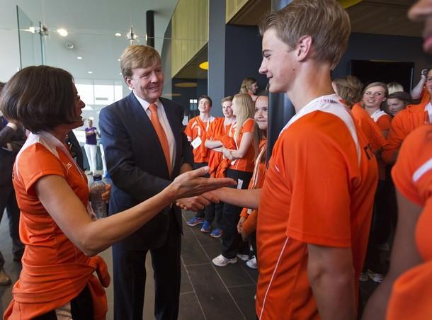 Willem Alexander et les JOJ
