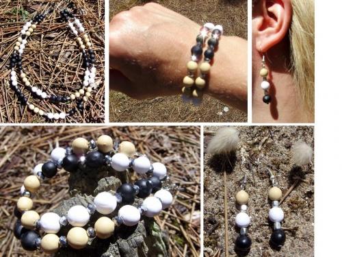 Bijoux aux couleurs de la nature