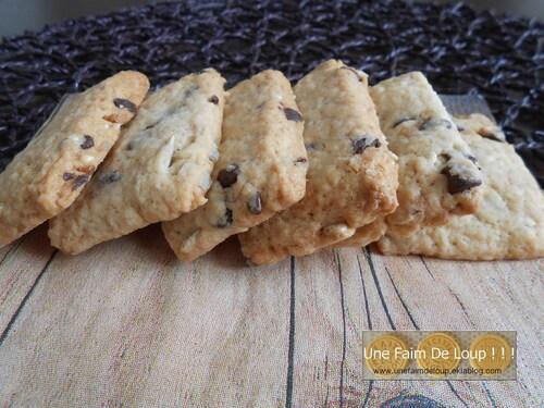 Les biscuits Cocottes au chocolat et graines