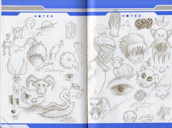 agenda dessins