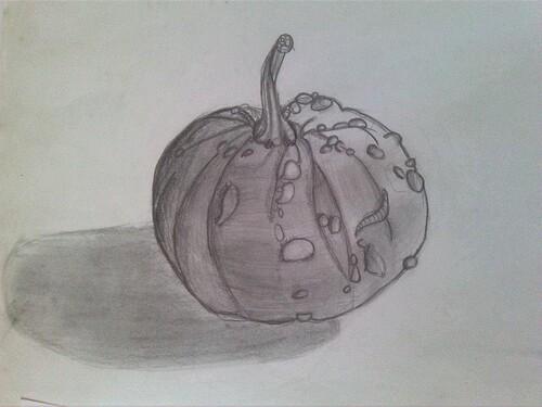 Croquis - Des fruits et des légumes