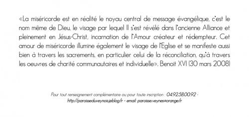 Rentrée paroissiale - 2 octobre 2011 - invitation