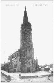 L'église de Le Minihic sur Rance