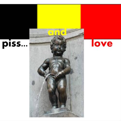 Hommage à la Belgique.