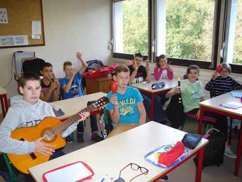 La musique en classe