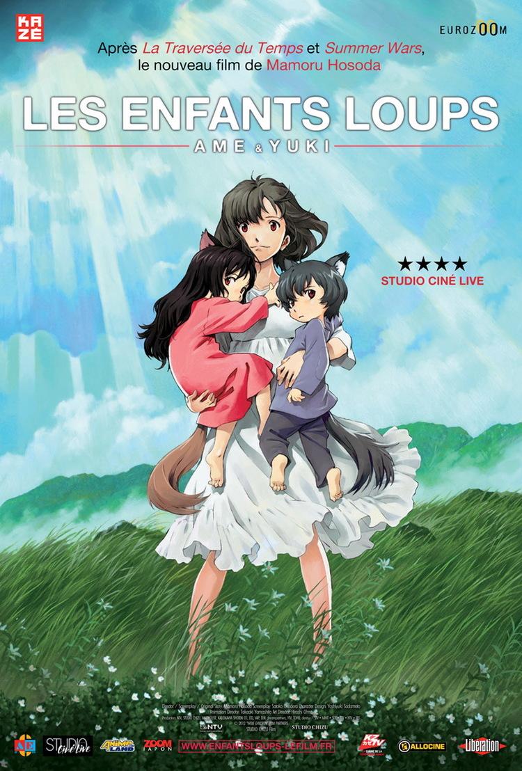 Les Enfants loups, Ame et Yuki