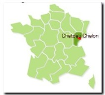 Chateau-Chalon, le dépaysement (Jura)