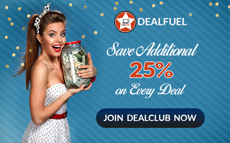 Join DealClub and Get Extra 25% OFF Sitewide