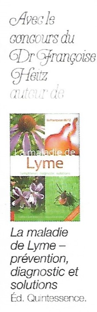 La maladie de Lyme (20-2)
