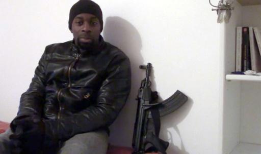 Capture d'écran en date du 11 janvier 2015 d'une vidéo d'Amédy Coulibaly © - OFF TV/AFP/Archives