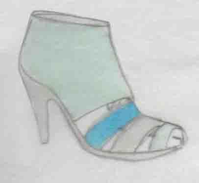 shoes, sandals, stilettos, talons
