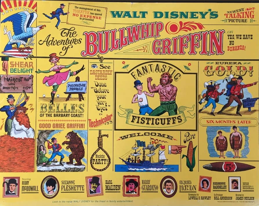 THE ADVENTURES OF BULLWHIP GRIFFIN BOX OFFICE USA 1967