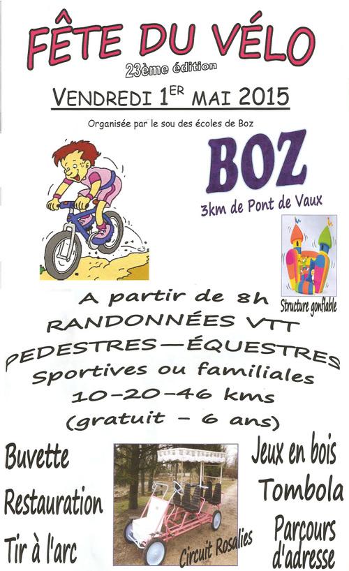 Fête du vélo - 1er mai