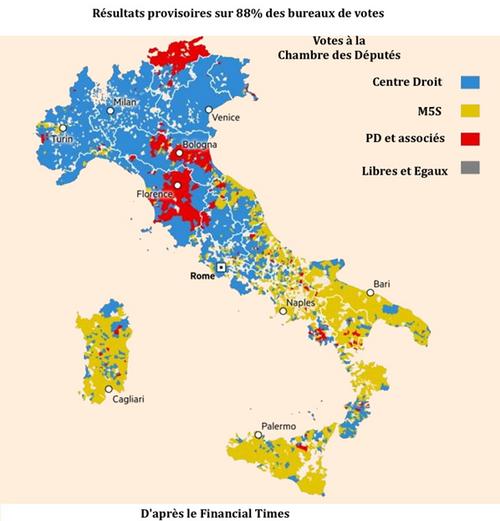 Le résultat des élections en Italie, l'Europe et les migrants