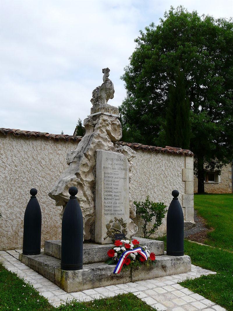 Souffrignac monument aux morts.JPG