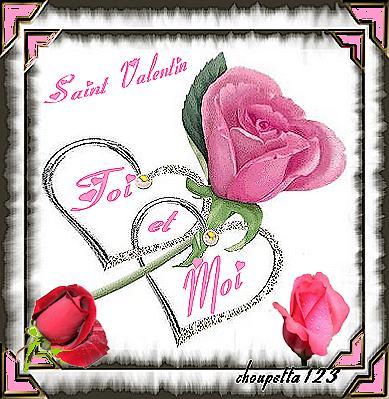 Je vous souhaite une très bonne saint valentin