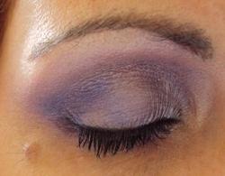 Série monochrome : violet glam et rock