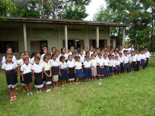 Distribution kits scolaire et d'hygiène - 2016