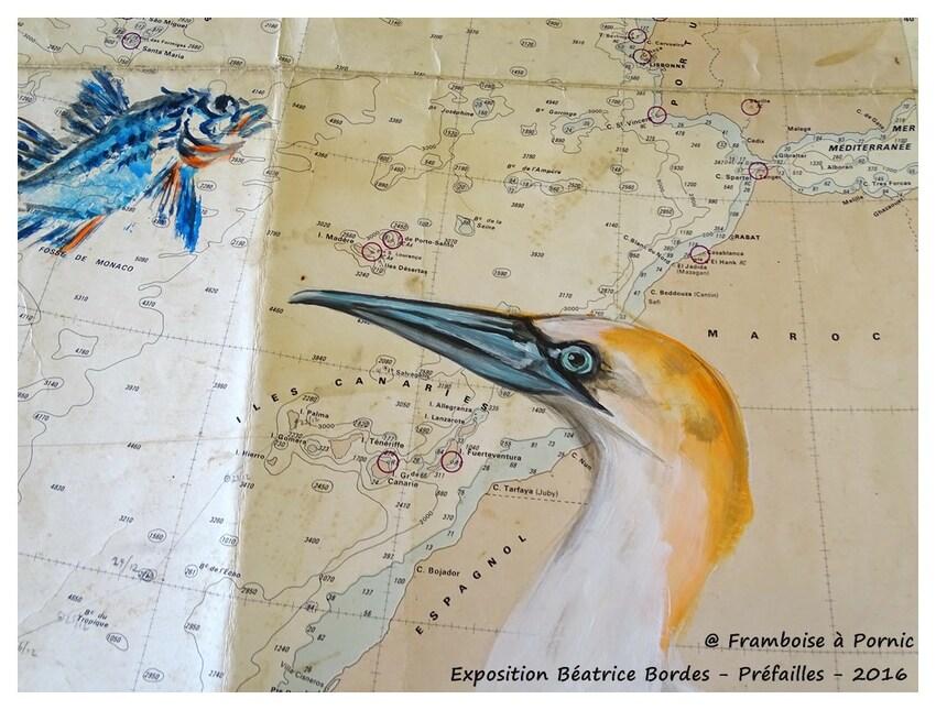 Préfailles Exposition Béatrice BORDES - 2016