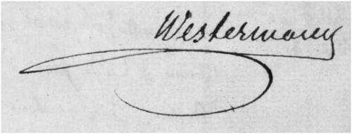 Légendes et réalités sur Westermann...