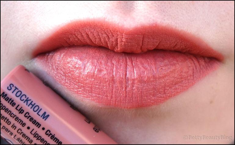 soft matte lip cream swatchs à la pelle !