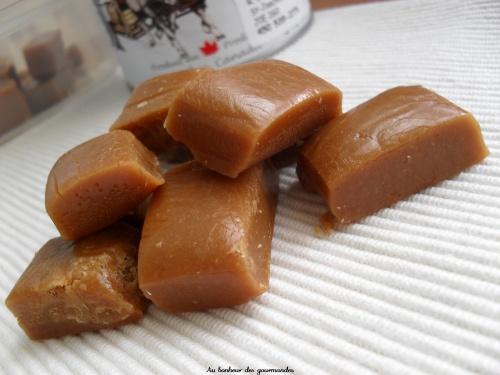 Caramel dur au sirop d'érable ou comment réussir un raté