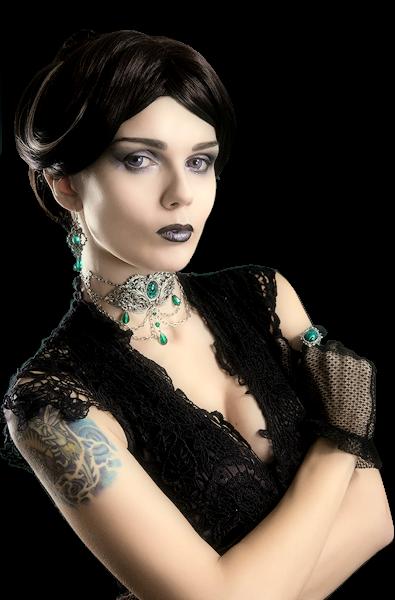 Tubes femmes gothiques création 8