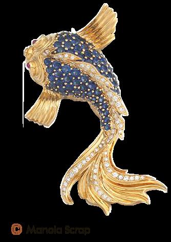 Bijoux poisson