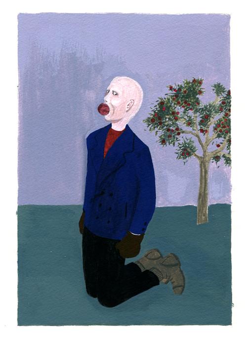 portrait à la pomme Matthieu Chiara