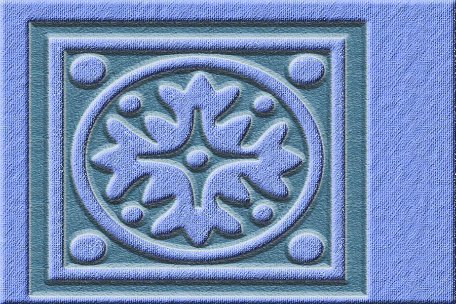 kits graphiques foncés forme fleur