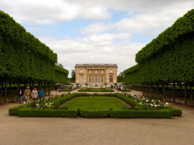 Jardin français et Petit Trianon